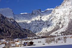 Winter alps Royalty Free Stock Photography