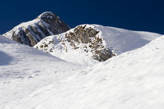 Winter in the Alps Royalty Free Stock Image