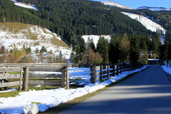Winter Alps austria Royalty Free Stock Photos
