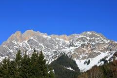 Winter Alps austria Stock Photo