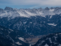 Winter in the Alps Royalty Free Stock Photo
