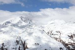 Winter Alps Royalty Free Stock Images