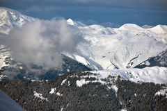 Winter Alps landscape Stock Photos