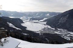 Winter Alps landscape Stock Images