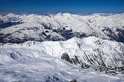 Free Winter Alps Mountains Stock Image - 38854581