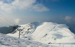 Winter Alps mountains Royalty Free Stock Photos