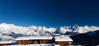 Winter Alps mountains Stock Photography