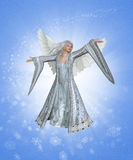 Winter Angel stock illustration