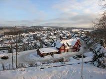 Winter-Ansicht Lizenzfreies Stockfoto