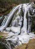 Winter-Ansicht der oberes Brüllen Lauffälle - 2 lizenzfreie stockfotografie