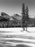 Winter, Anthony Lake Stock Photography