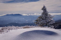 Winter Appalachian Trail Hike 3 Royalty Free Stock Images