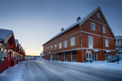 Winter in Arendal Royalty Free Stock Photos