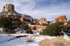 Winter in Arizona Royalty Free Stock Photos