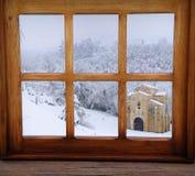 Winter in Asturias. Royalty Free Stock Photo