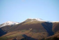 Winter auf Skiddaw Lizenzfreie Stockfotografie