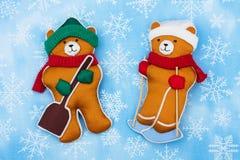 Winter-Bären Lizenzfreie Stockfotografie