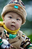 Winter-Baby Stockfotos