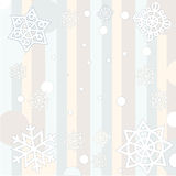 Winter baby background Stock Photography