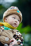 Winter Baby boy Stock Images