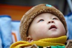 Winter Baby Stock Image