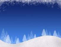 Winter backgound#1 Royalty Free Stock Photo