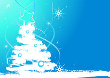 Winter background. Editable  winter background with space for your text Stock Images