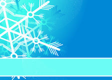 Winter background. Editable  winter background with space for your text Stock Image