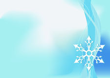 Winter background. Editable  winter background with space for your text Royalty Free Stock Images