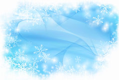 Winter background. Modern winter background with space for your text Royalty Free Stock Images