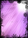 Winter Background. Abstract of Purple Light Rays - winter background Royalty Free Stock Photos