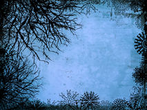 Winter Background. Winter style grunge background Stock Images