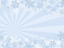 Winter Background. With SnowFlakes (Quick & Easy Editing Royalty Free Stock Photos