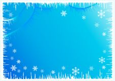 Winter  background. Royalty Free Stock Photos