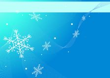 Winter background. With space for your text Stock Photo
