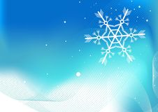 Winter background. Editable  winter background with space for your text Royalty Free Stock Photo