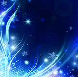 Winter Background. Beautiful Abstract Winter Shiny Background royalty free illustration