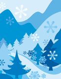 Winter Background. Exquisite Series of Winter Backgrounds. Check my portfolio for much more of this series as well as thousands of similar and other great vector Royalty Free Stock Photography