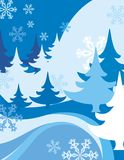 Winter Background. Exquisite Series of Winter Backgrounds. Check my portfolio for much more of this series as well as thousands of similar and other great vector Royalty Free Stock Photo
