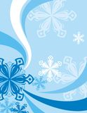 Winter Background. Exquisite Series of Winter Backgrounds. Check my portfolio for much more of this series as well as thousands of similar and other great vector Royalty Free Stock Image