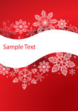 Winter background. With copy space for text Stock Photos