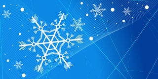Winter background. Editable vector winter background with space for your text Stock Photo