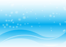 Winter background. Beautiful vector winter colored background Royalty Free Stock Images