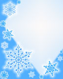 Winter background. Snowflakes Royalty Free Stock Image