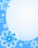 Winter background. Snowflakes Royalty Free Stock Photography