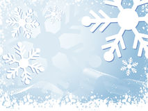 Winter background royalty free illustration