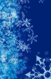 Winter background. Modern winter background with space for your text Royalty Free Stock Photo
