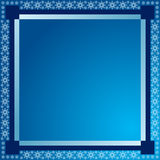 Winter background. Beautiful Vector illustration of blue winter background Royalty Free Stock Photography