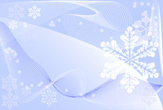 Winter background. Postcard, winter theme stock illustration