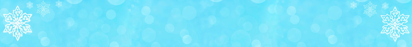 Winter background  banner with stars Royalty Free Stock Image